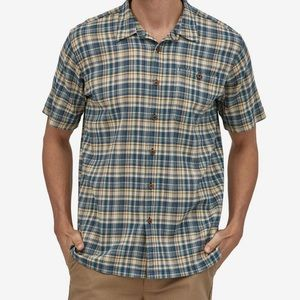 """Men's Patagonia """"A/C"""" short sleeve button up shirt"""